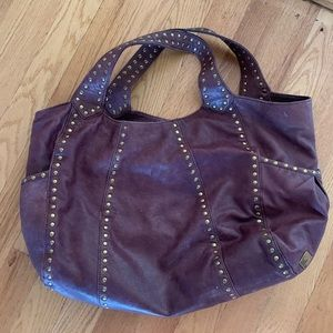 Burgundy leather Kooba purse!